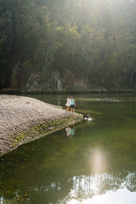 fotos de embarazo en la playa en Asturias